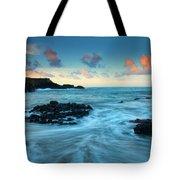 Glass Beach Dawn Tote Bag by Mike  Dawson
