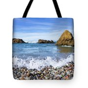Glass Beach, Fort Bragg California Tote Bag