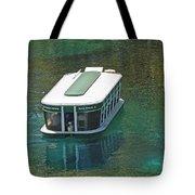 Glass Bottomed Boat Tote Bag