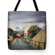 Glass Bridge To The Aquarium Tote Bag