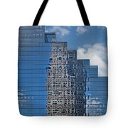 Glass Building Reflections Tote Bag