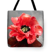 Glass Flower Tote Bag