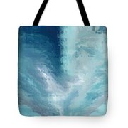 Glass Heart Tote Bag