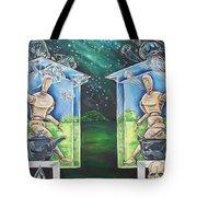 Glass Houses Tote Bag