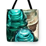Glass Insulators Tote Bag