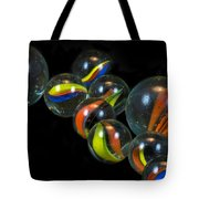 Glass Marbles Tote Bag