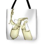 Glasses Of Champagne Tote Bag
