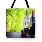 Enjoying Wine Tote Bag