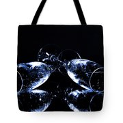 Glass Of Shampagne Tote Bag