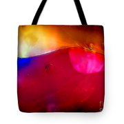 Glass Paint Abstract Dark Tote Bag