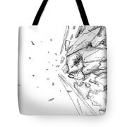 Glass Punch Tote Bag