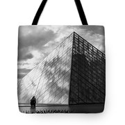 Glass Pyramid. Louvre. Paris.  Tote Bag