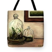 Glass Terrariums Tote Bag