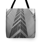 Glass Tower Tote Bag