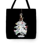 Glass Tree Decoration Tote Bag