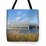 Glasshouse At Rhs Wisley Surrey Uk Tote Bag