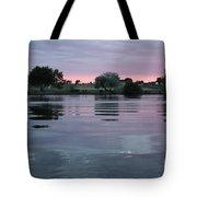 Glassy River Reflection Tote Bag