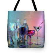 Glassy Still Life Tote Bag