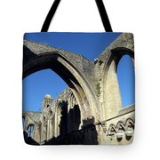Glastonbur Abbey 2 Tote Bag