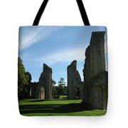 Glastonbury Abbey 3 Tote Bag