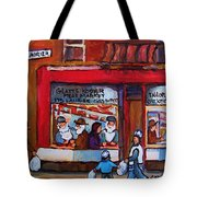 Glatts Kosher Meatmarket And Tailor Shop Tote Bag