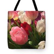 Glazed Tulip Bouquet Tote Bag