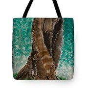 Glazing Veins Tote Bag