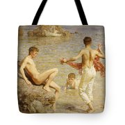 Gleaming Waters Tote Bag