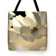 Gleaming White Tote Bag