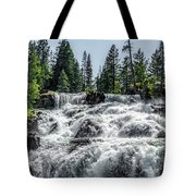 Glen Alpine Falls 7 Tote Bag