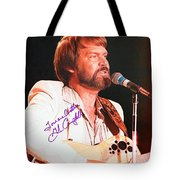 Glen Campbell Autographed Poster Tote Bag
