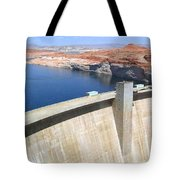 Glen Canyon Dam Tote Bag by Will Borden