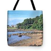 Glen Cove Rocky Beach Tote Bag