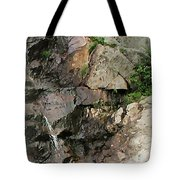 Glen Falls Abstract Tote Bag