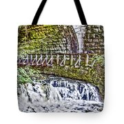 Glen Waterfall Tote Bag by William Norton