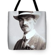 Glenn Curtiss - Aviation Pioneer And Father Of Aircraft Industry - 1909 Tote Bag