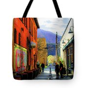Glenwood Alleyscape Tote Bag