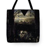 Gleyre Charles Gabriel The Queen Of Sheba Tote Bag