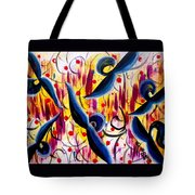Glidding To Victorious Ends Tote Bag