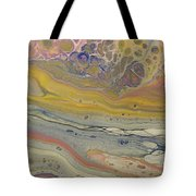 Glide Across The Galaxy 2 Tote Bag