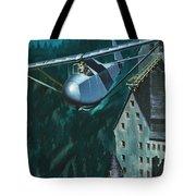 Glider Escape From Colditz Castle Tote Bag