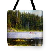 Gliding Along Tote Bag