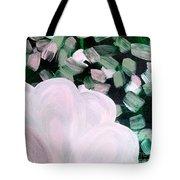 Glimmering Petals Tote Bag