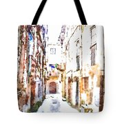 Glimpse Away With The Town Hall Tote Bag
