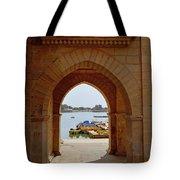 Glimpse Of Gadisar Lake Tote Bag