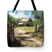 Glimpse Of The Past Tote Bag