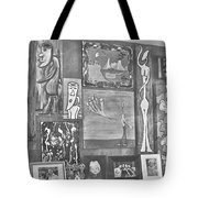 Glimpses Of Where Art Lives 4 Tote Bag