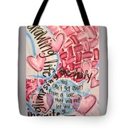 Glimpsing The Holy Tote Bag