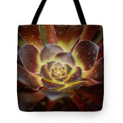 Glistening Glowing Garden Jewel Tote Bag