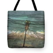 Glistening On Wood Tote Bag